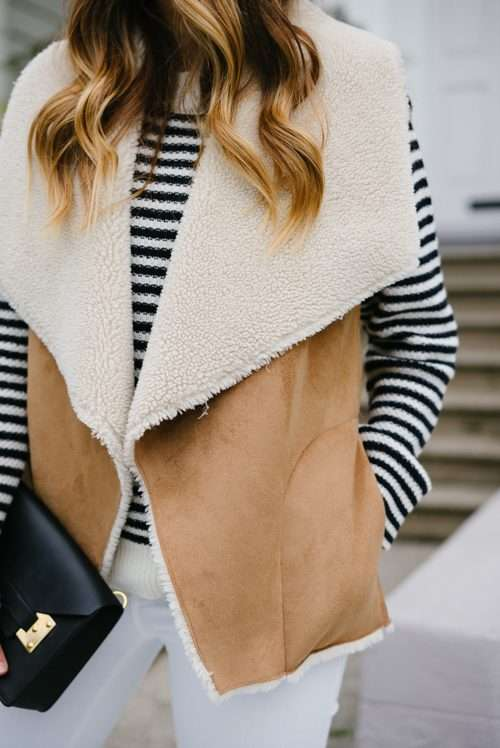 Stripes & Shearling