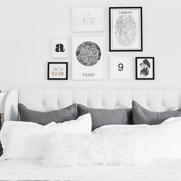 How to Curate a Beautiful Gallery Wall