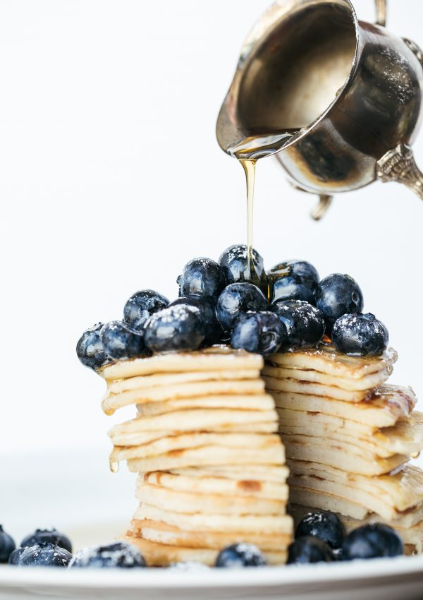 Gluten-Free Pancakes with Mascarpone Cream